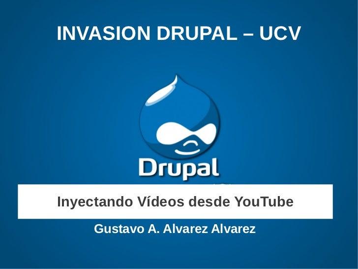 Videos en Drupal 7 - Exposicion UCV