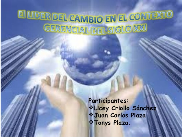 Participantes:  Licey Criollo Sánchez  Juan Carlos Plaza  Tonys Plaza.