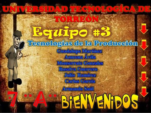 UNIVERSIDAD TECNOLOGÍCA DE TORREÓN