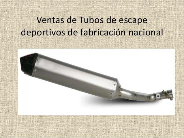 Ventas de Tubos de escape deportivos de fabricación nacional