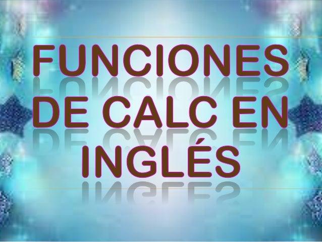 Estas funciones (matemáticas) trabajan sobre números complejos como 2+ 3.