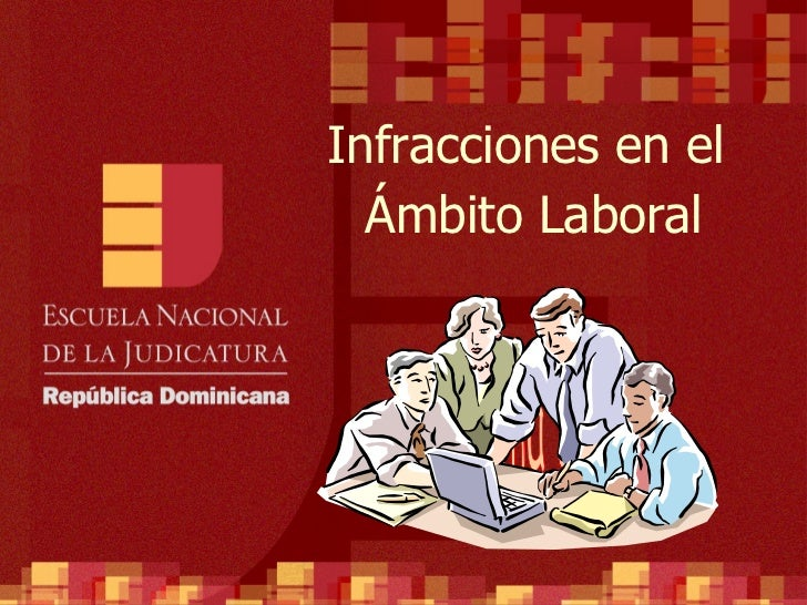 Tema 5 Infracciones en el  Ámbito Laboral