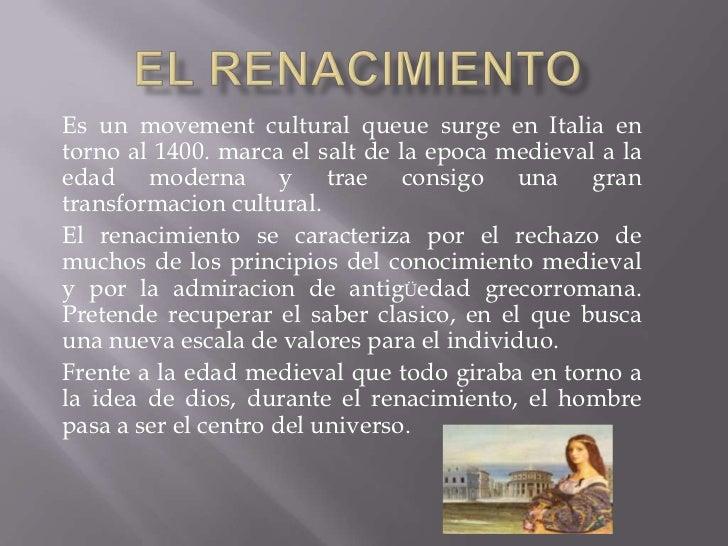 Exposicion literatura renacimiento
