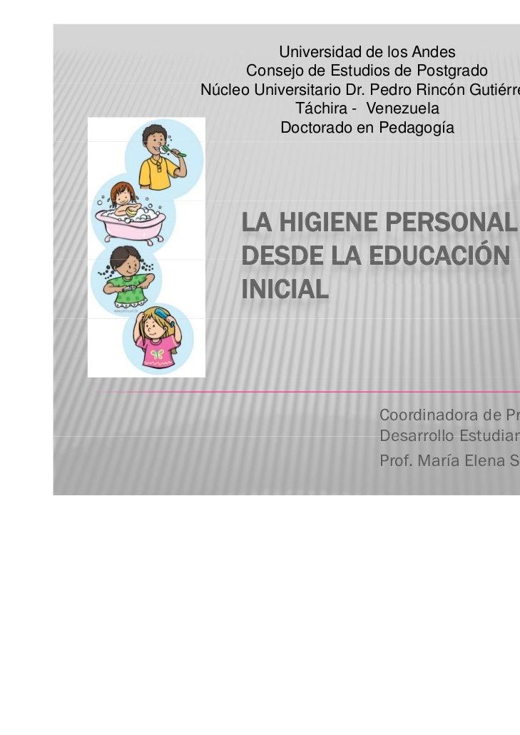 Universidad de los Andes      Consejo de Estudios de PostgradoNúcleo Universitario Dr. Pedro Rincón Gutiérrez            T...