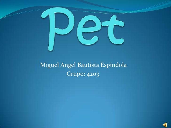 Miguel Angel Bautista Espindola         Grupo: 4203