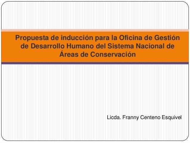 Propuesta de inducci n para la oficina de gesti n de for Oficina nacional de evaluacion