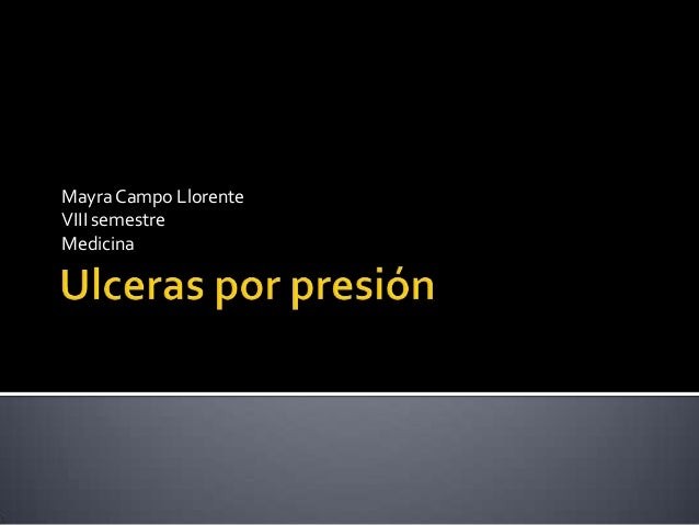 Ulceras por presión UPP