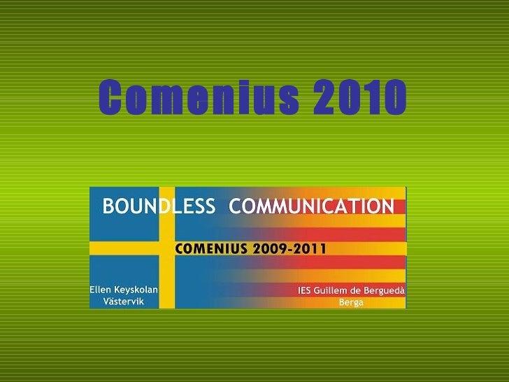 Comenius 2010