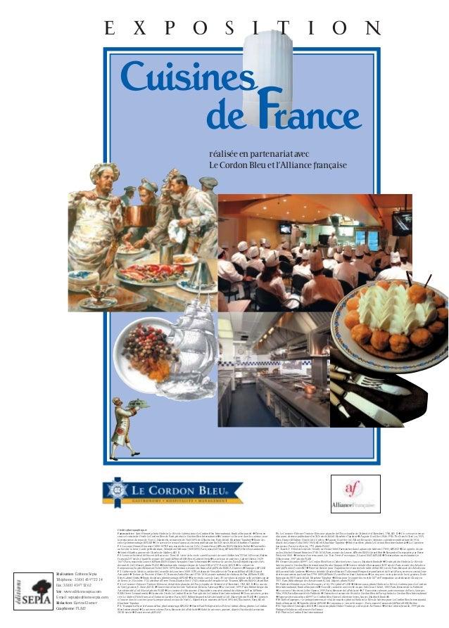 Exposition cuisines de France