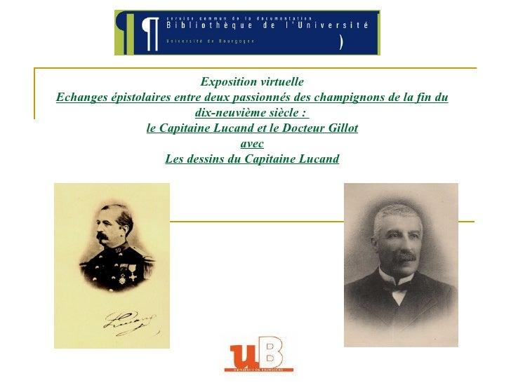 Exposition virtuelle Echanges épistolaires entre deux passionnés des champignons de la fin du dix-neuvième siècle :  le Ca...