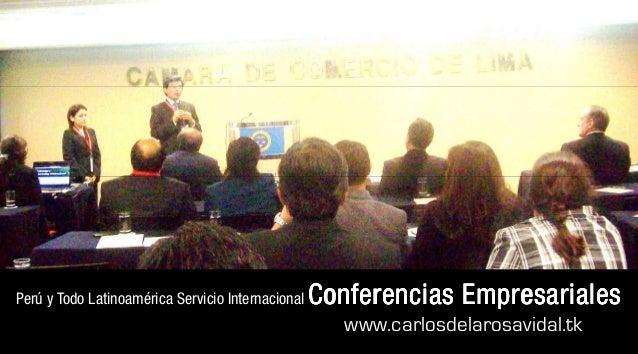 Expositores Motivacionales Carlos de la Rosa Vidal