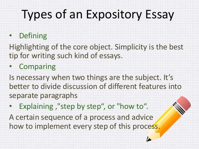 Topics for a expository essay