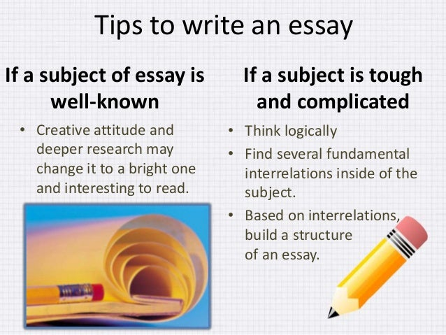 Topics For Informative Essay