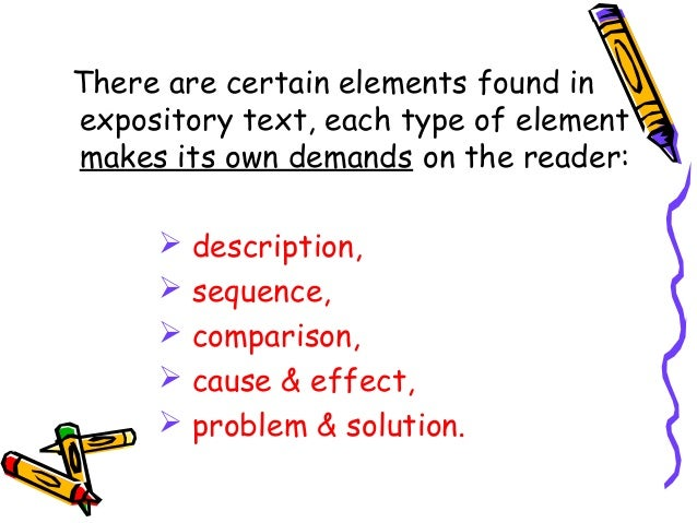 Elements of expository essay