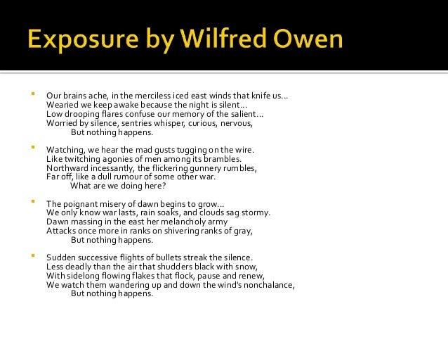 Write My Essays On Wilfred Owen