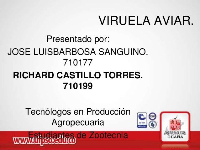 Expo viruela aviar