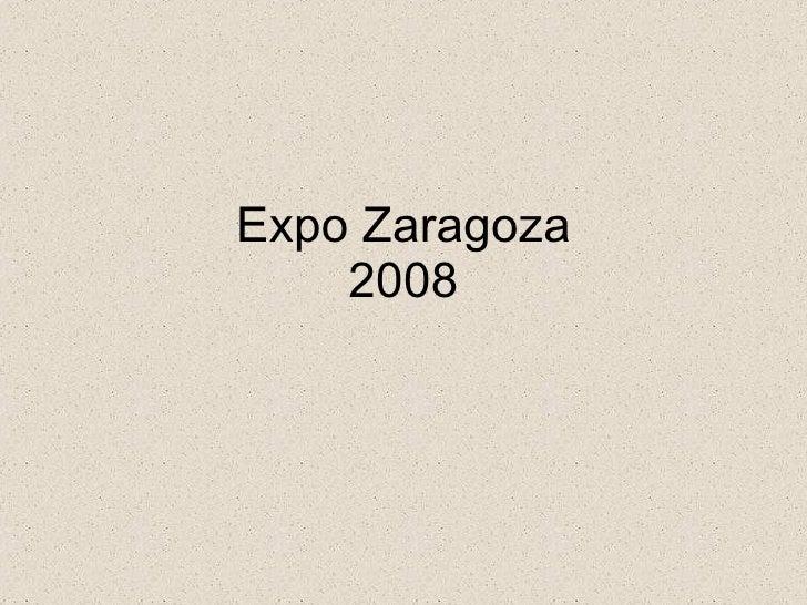 Expozaragoza2008