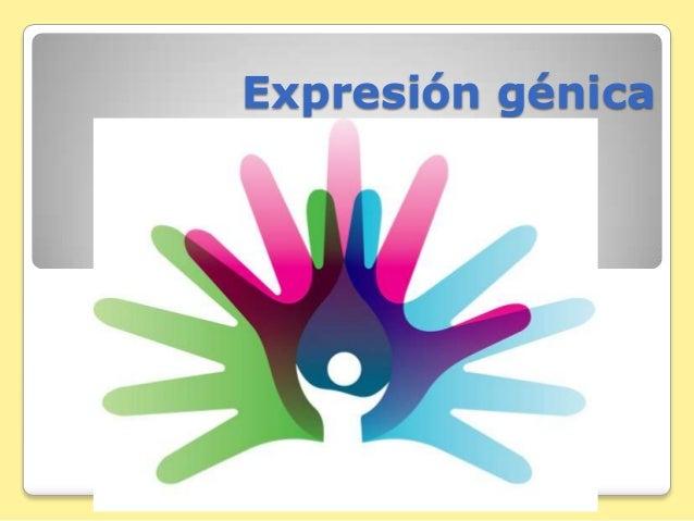 Expresión génica
