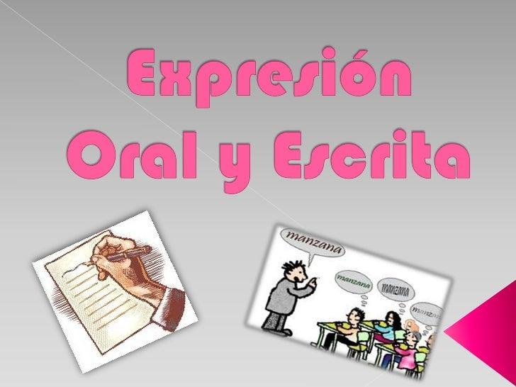 expresion oral taller de lectura y: