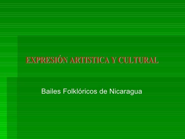 Expresion  Artistica Y  Cultural