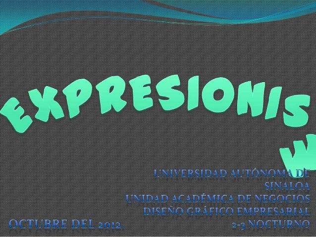 CaracterísticasEl Expresionismo reflejó, más que la realidadobjetiva, la crisis interior, la tragedia personal delpintor, ...