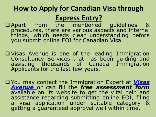 submit application online candian immigration