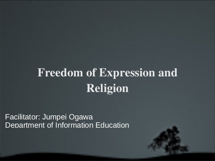 Expression Freedom and Religion