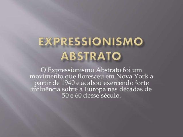 Expressionismo caracteristicas da pintura