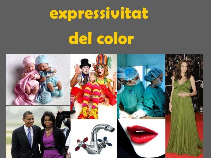 expressivitat  del color