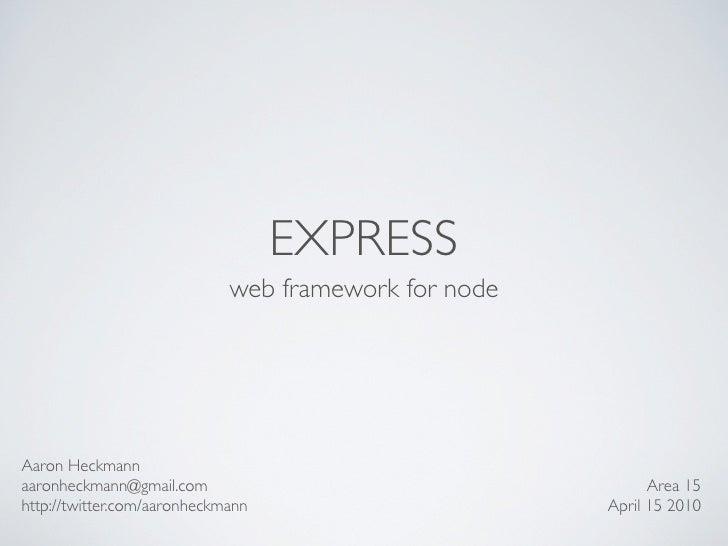Express Presentation
