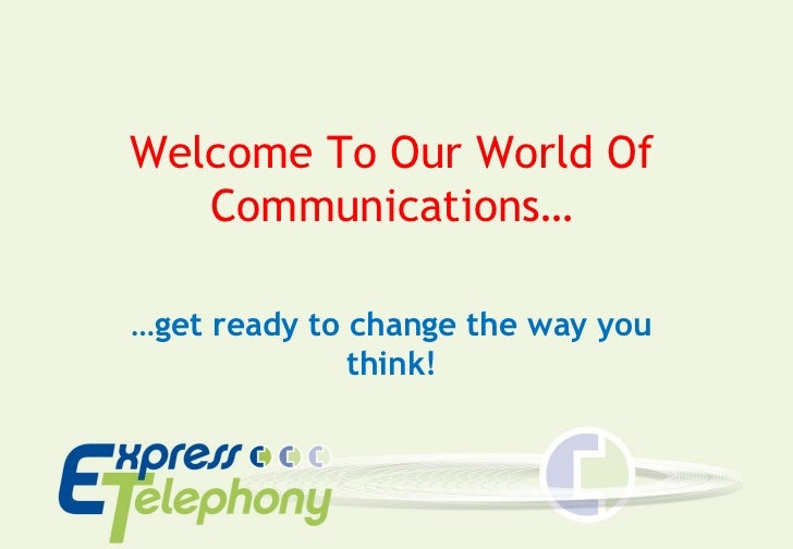 Expresstelephony Cloud Telephony Systems for Business