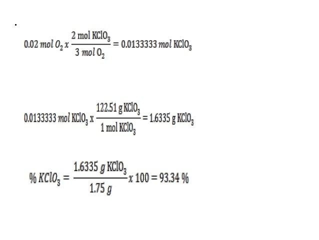 how to find mass of o2