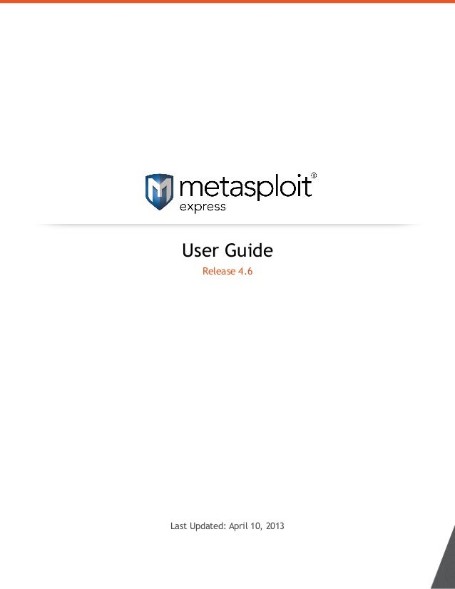 User Guide Release 4.6 Last Updated: April 10, 2013