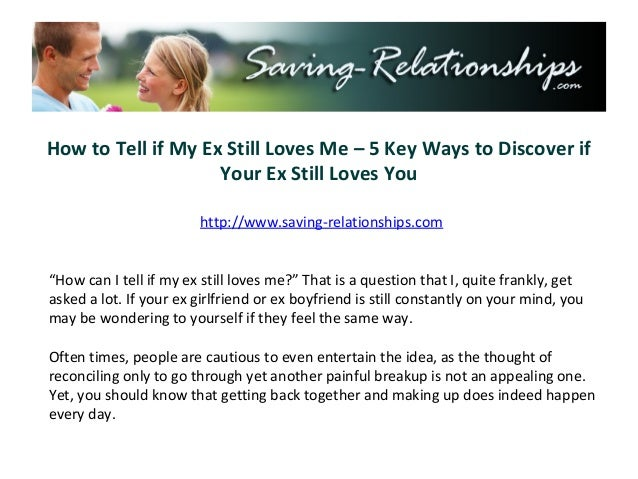How to Tell if My Ex Still Loves Me – 5 Key Ways to Discover if                    Your Ex Still Loves You                ...