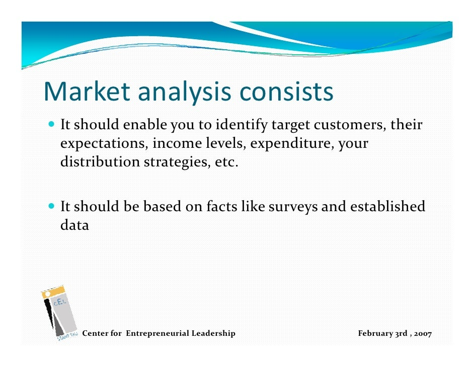 How to write market analysis
