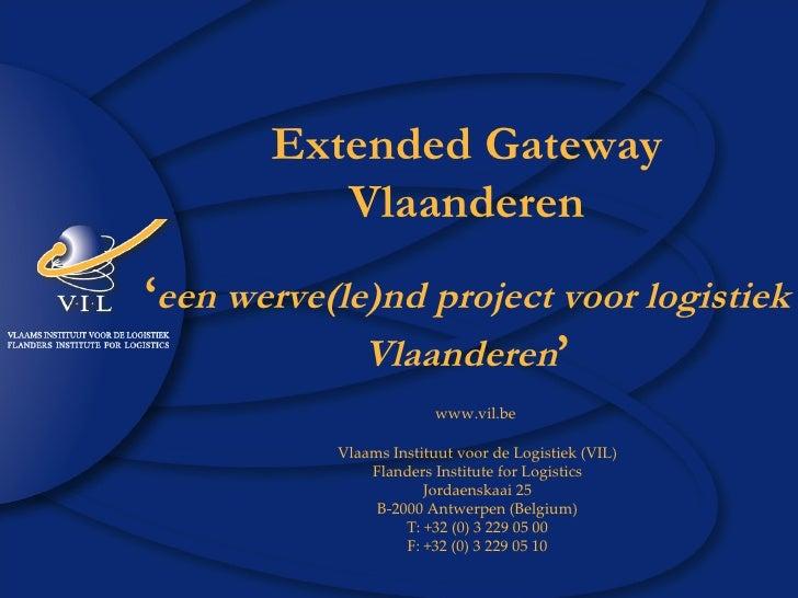 Extended Gateway Vlaanderen Vrp 03 06 08