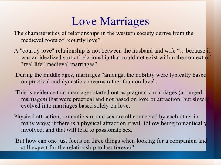 definition of marriage essay