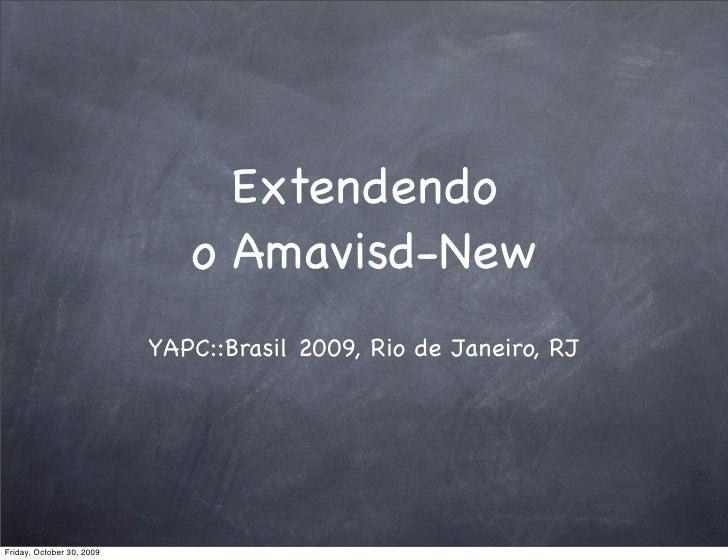 Extendendo o Amavisd New