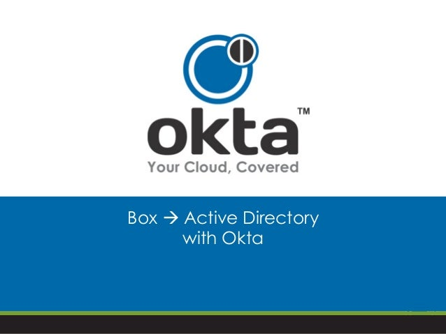 Box à Active Directory with Okta