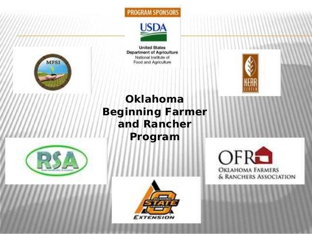 OklahomaBeginning Farmerand RancherProgram