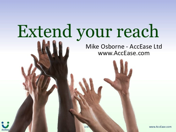 Extend your reach - making your website accessible to everyone