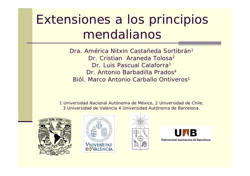 Extensiones Mendel