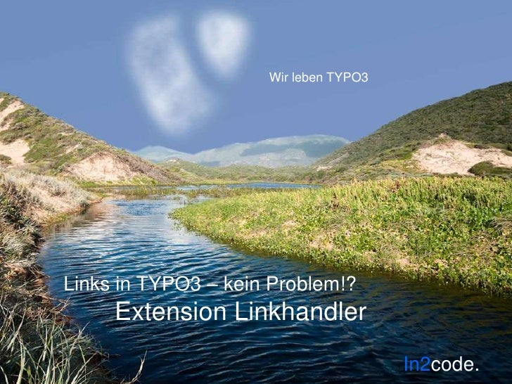 Links in TYPO3 – kein Problem!?Extension Linkhandler<br />