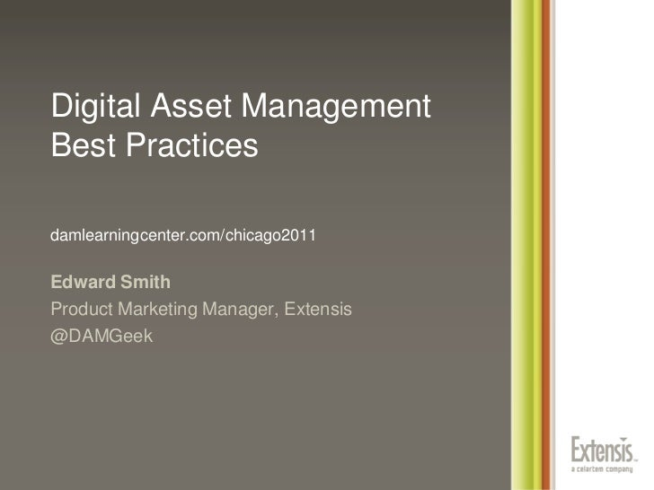 Digital Asset Management Forum Chicago 2011