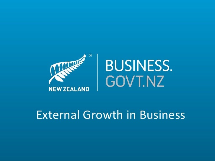 External Growth in Business