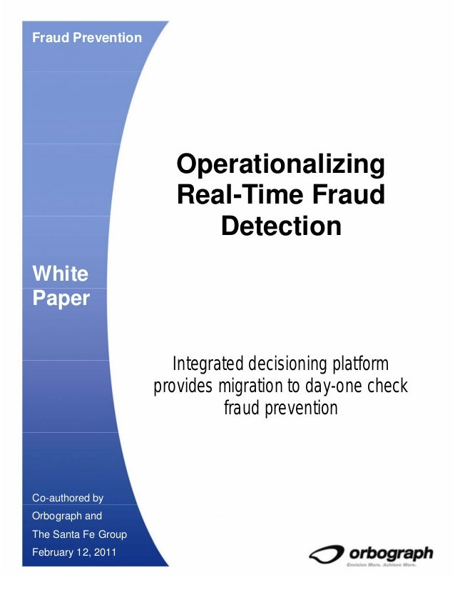 Fraud Prevention                        Operationalizing                        Real-Time Fraud                           ...