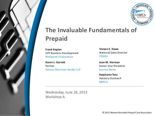 The Invaluable Fundamentals of Prepaid
