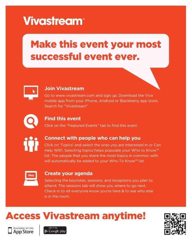 Vivastream Poster