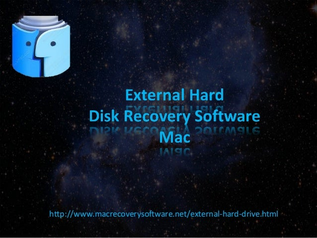 External Hard Disk Data Recovery Software for Mac to Recover Lost or Deleted Files