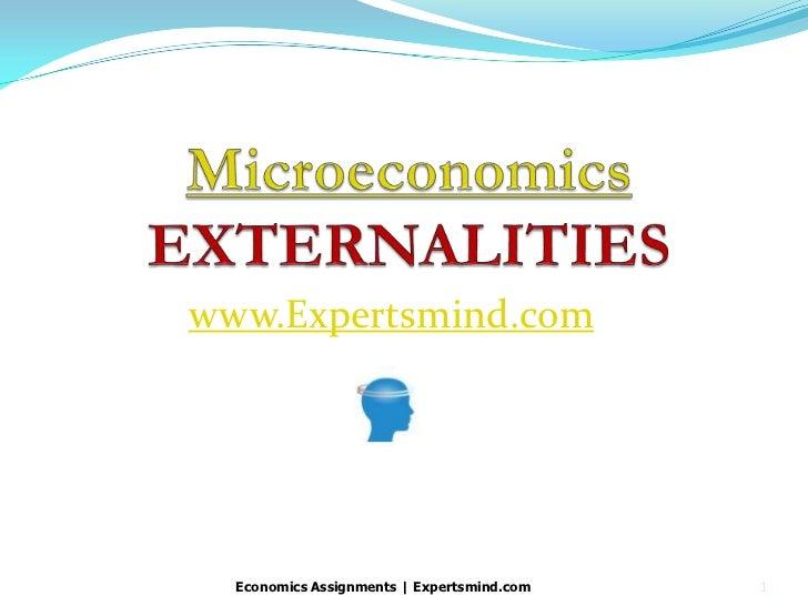 www.Expertsmind.com  Economics Assignments   Expertsmind.com   1